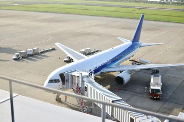 ANAの飛行機の写真